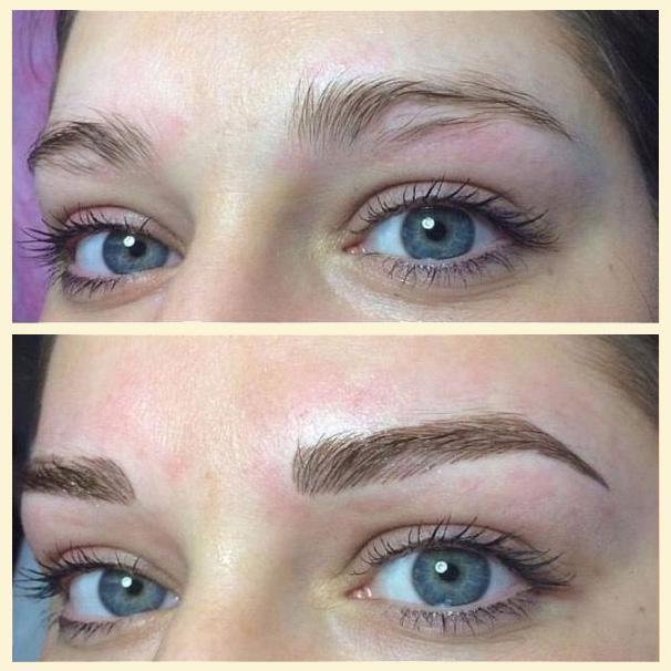 permanentní make-up obočí, metoda TAFFY