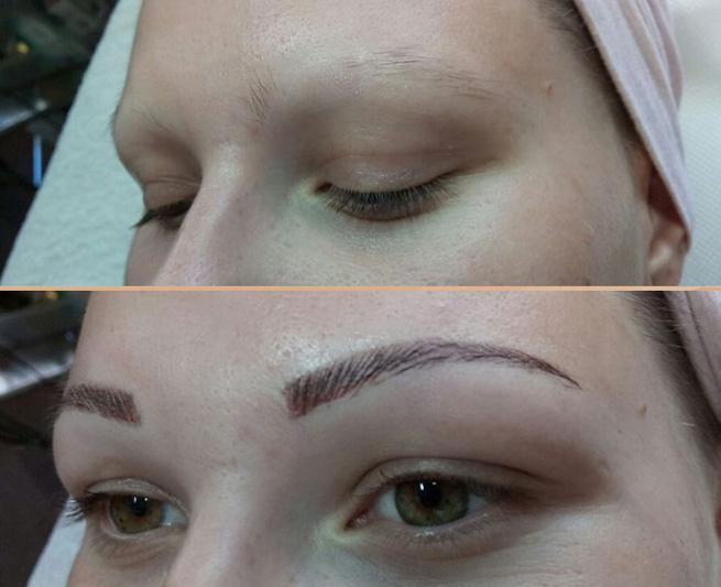 permanentní make up metoda taffy