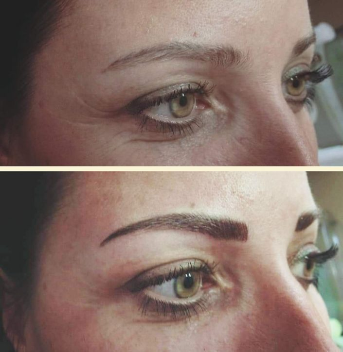permanentní make up obočí Praha